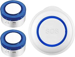 Haude WiFi SOS Noodknop WiFi Alarm Set Home Alarm Sensor, geschikt voor de veiligheid van ouderen en kinderen