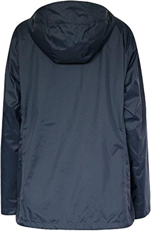 Columbia Women's Plus Marys Peak II Hooded RAIN Jacket Navy