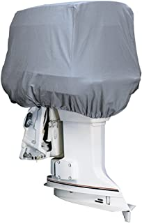 attwood Road Ready Cotton Heavy-Duty Canvas Cover f/Outboard Motor Hood up to 25HP