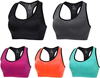 CLUCI 3 Pack Sports Bras for Women High Impact Sport Bra for Yoga Workout Fitness Gym