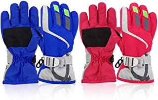 kids ski hats and gloves