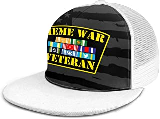 Meme War Veteran Adjustable Dad Hats Adult Mesh Hat Baseball Cap