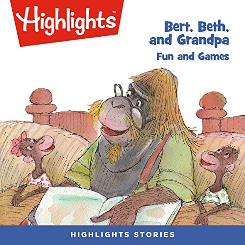 Bert, Beth, and Grandpa: Fun and Games copertina