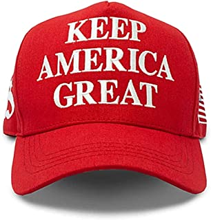Migi Make America Great Again Hat with Trump Wristband Donald Trump Hat 2020 USA Cap Keep America Great Red