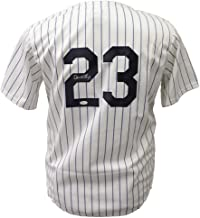 don mattingly signed jersey