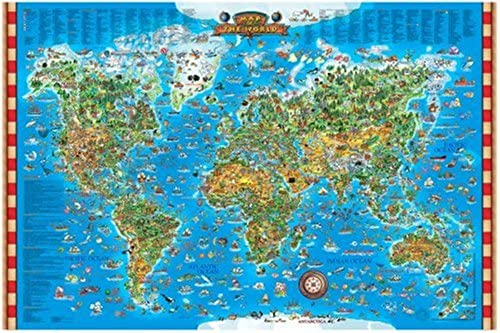 Great American Puzzle Factory Map Of The World 600 Piece puzzle