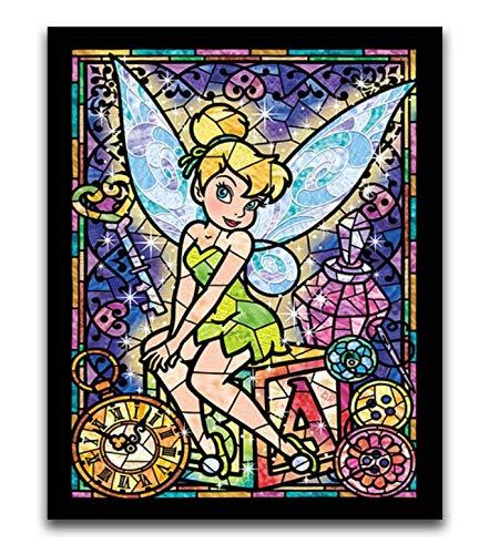 H/F Personaggio dei Cartoni Animati Fai da Te Pittura Digitale Bambini Calligrafia Pittura Wall Art Decorazione Fan Regalo Frameless (15,7X 19,6 Pollici) G8530