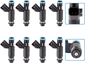 uxcell 8pcs Flow Matched Fuel Injector Nozzle 25317628 for GMC Cadillac Chevrolet
