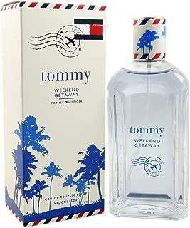 Tommy Weekend Getaway By Tommy Hilfiger for Men 3.4 Oz Eau De Toilette Spray, 3.4 Ounce
