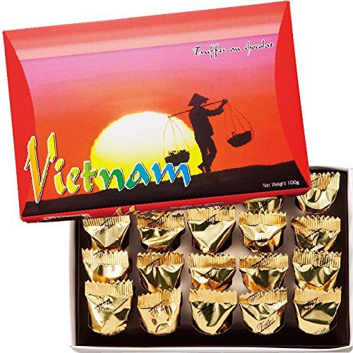 ベトナム 土産 ベトナム チョコトリュフ 1箱 (海外旅行 ベトナム お土産)