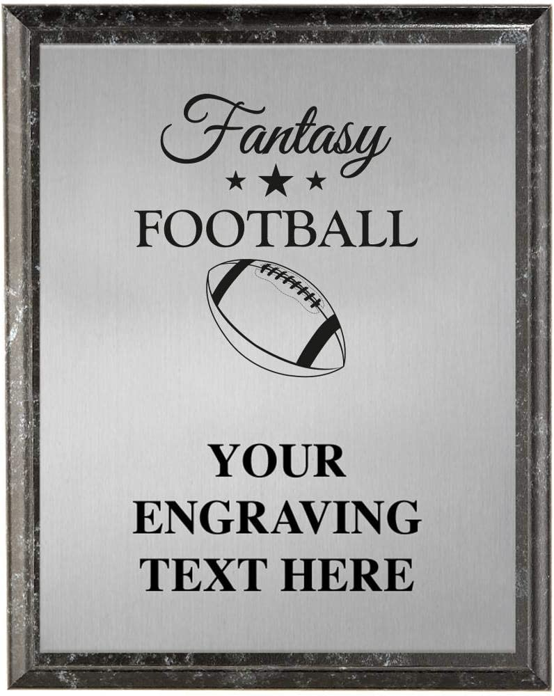 Crown Awards Fantasy Football Plaques Limited time cheap sale Personalized Albuquerque Mall Foot