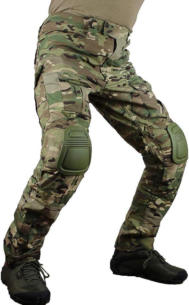 zuoxiangru Men's Multicam Tactical 記念日 Multi-Pockets Military 超人気 Pants