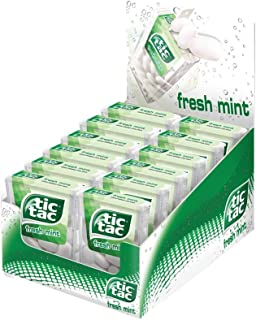 Tic Tac Candy Mint 216g Pack of 12