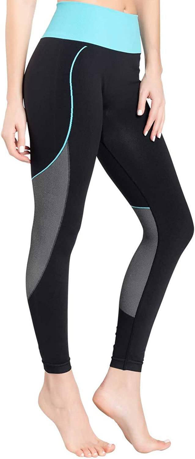 Zensah Womens High Waisted Tights  Workout Running Compression Tights, Yoga Tight, Best Tight