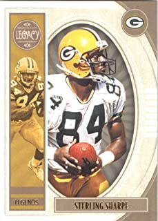 2019 Panini Legacy #135 Sterling Sharpe NM-MT Green Bay Packers Officially Licensed NFL Football Trading Card