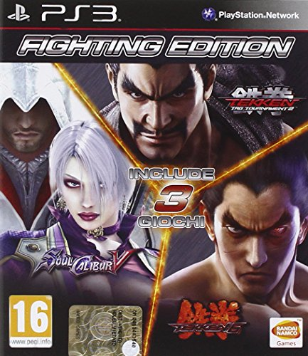 Tekken 6 + Soul Calibur 5 + Tekken Tag Tournament 2 [Bundle] [Importación Italiana]