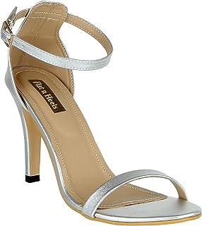 Flat n heels Womens Silver Sandals FnH 4950-SIL