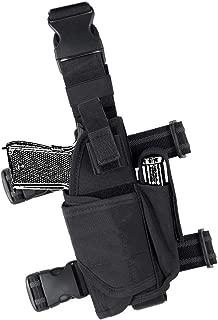 IDOGEAR Tactical Pistol Thigh Gun Holster Drop Leg Holster Adjustable Pistol Carrier with 9mm Mag Pouch for Right Handed Universal Gun Holster Leg Harness 500D Nylon