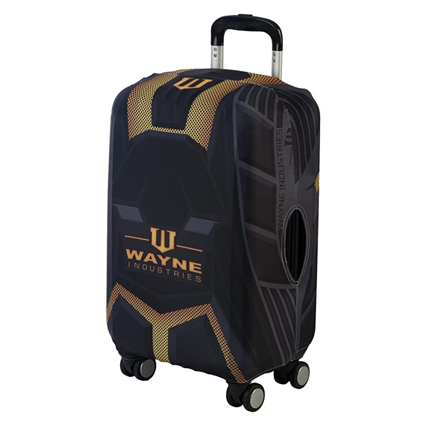 Bioworld Batman Luggage Cover DC Comic Accessories - Batman Gift Wayne Industries Batman Accessories