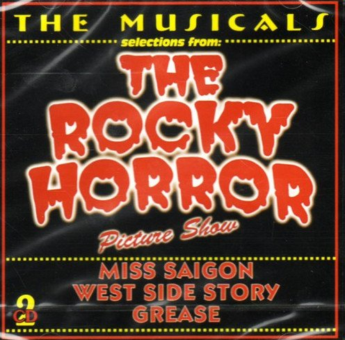 Musicals : The Rocky Horror Picture Show, Miss Saigon, West Side Story, Grease. [Import Anglais]
