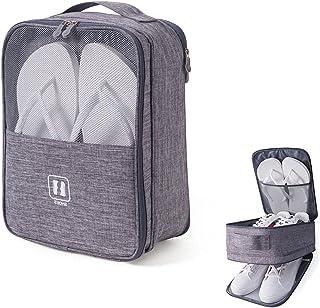 Housses chaussures de voyage,sac à chaussures d'extérieur portable, étanche à la poussière, imperméable et respirant, peut...