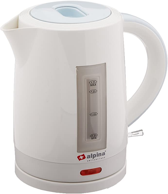 Alpina SF 805 Automatic 220V Cordless Electric Hot Water Kettle 1 7 L White