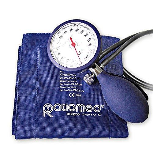 Blutdruckmessgerät Aneroid blau by megro / ratiomed
