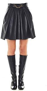 Elisabetta Franchi Luxury Fashion Donna GO42006E2110 Nero Poliestere Gonna | Autunno-Inverno 20