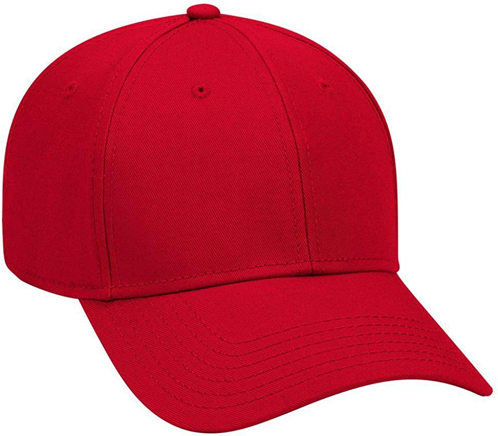 Otto 6 Panel Large special price Low famous Profile Twill Cap Superior Cotton