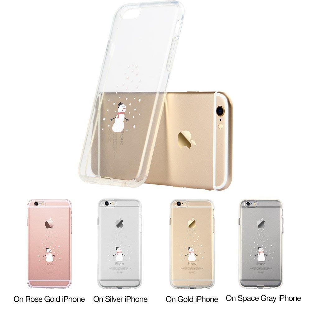 ESR Carcasa iPhone 6 / 6s iPhone 6s Funda/iPhone 6 Funda TPU Suave Funda Parachoques Funda Cover Carcasa para iPhone 6s / 6 (Sr. Hombre de la Nieve): Amazon.es: Electrónica