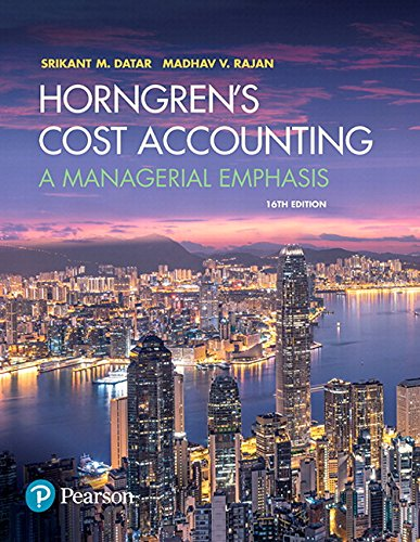 Horngren's Cost Accounting, Student Value Edition Plus MyLab Accounting with Pearson eText -- Access Card Package