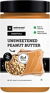 Wellversed Unsweetened Peanut Butter (2x200g) | Gluten Free