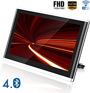 11.6 Inch Car Headrest Video Players, Car Rear Seat Entertainment System, Support Bluetooth 4.0/WIFI/HDMI/FM, Mobile Scree...