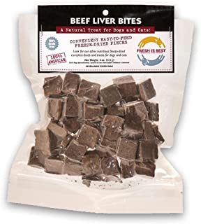 Fresh Is Best Freeze Dried Raw Beef Dog & Cat Treats