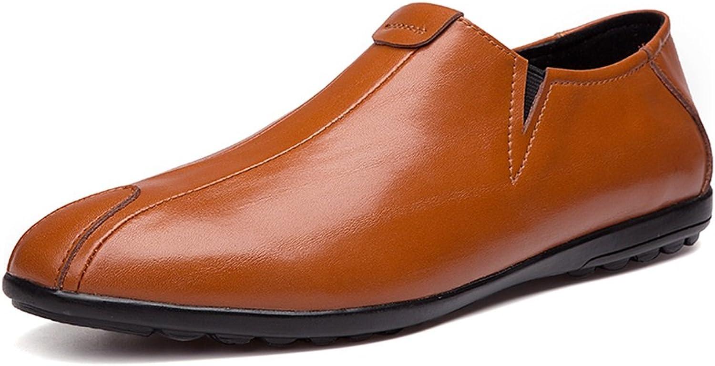 Männer Schuhe, Herrenschuhe Herrenschuhe Herrenschuhe Leder Frühling Herbst Komfort Loafers & Slip-Ons Fahr Schuhe für Casual große Größe britischen Stil schwarz, braun,Schuhe B07J1ZSCM9  Feinbearbeitung 1e4e4b