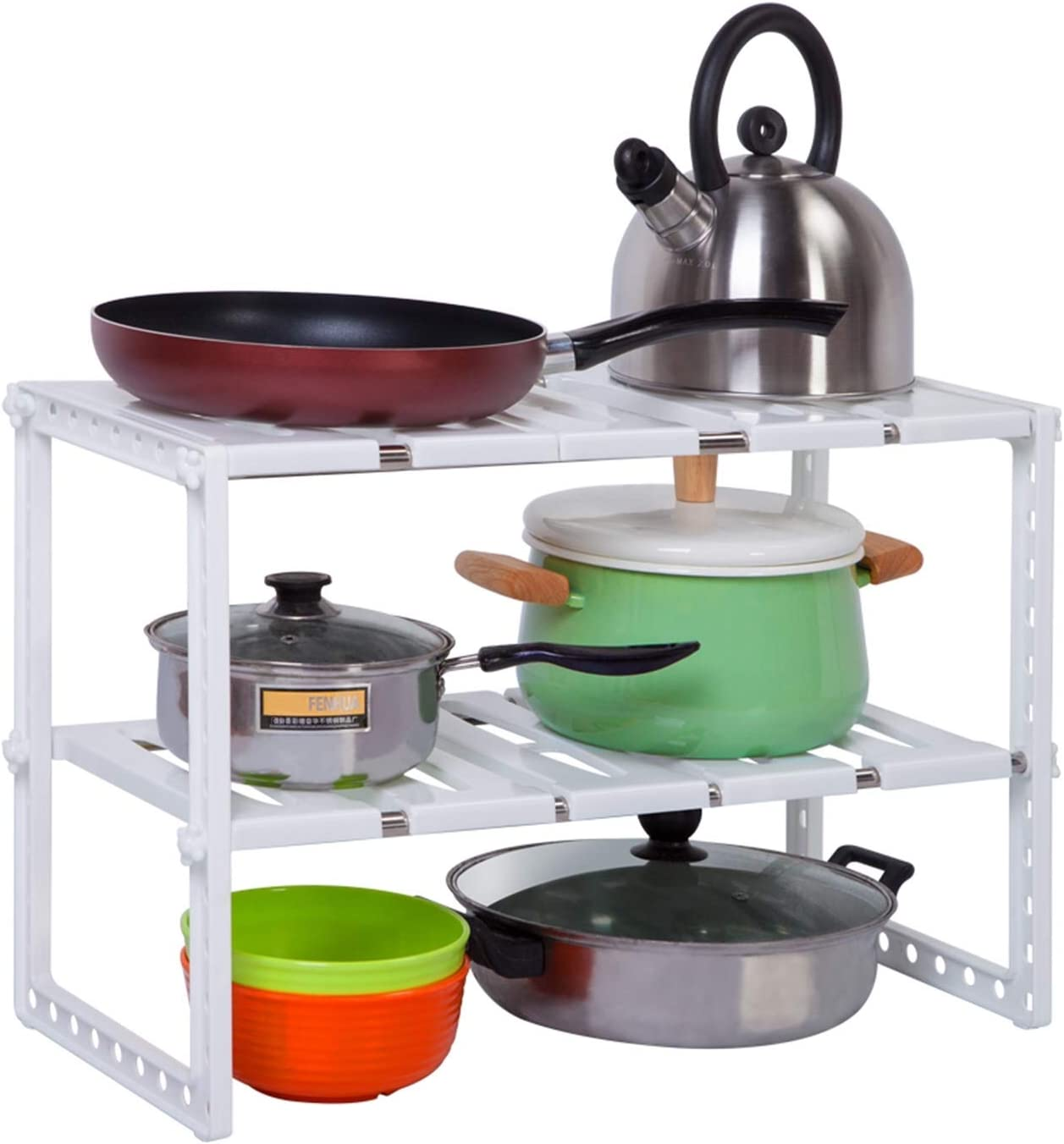 Nother Under Sink Detroit Mall Organizers and storage Rack Pot Japan's largest assortment - with 2-Tier