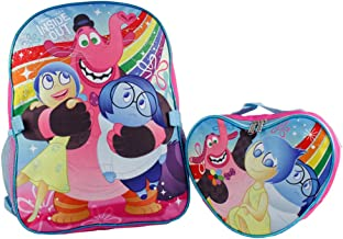 Disney Inside Out Girls 16' Large School Backpack- Bing Bong with Joy and Sadness