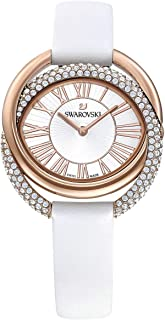 Swarovski 5484385 Duo White Band Watch
