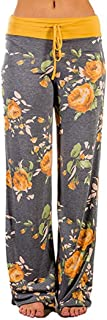 Pajama Pants,Women Casual Cat Prints Drawstring Trousers Leggings by-NEWONSUN