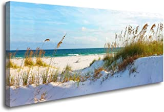 youkuart Canvas Wall Art sea Beach Stretched and Framed Ready to Hang, Canvas Art for Home Decoration xm014129