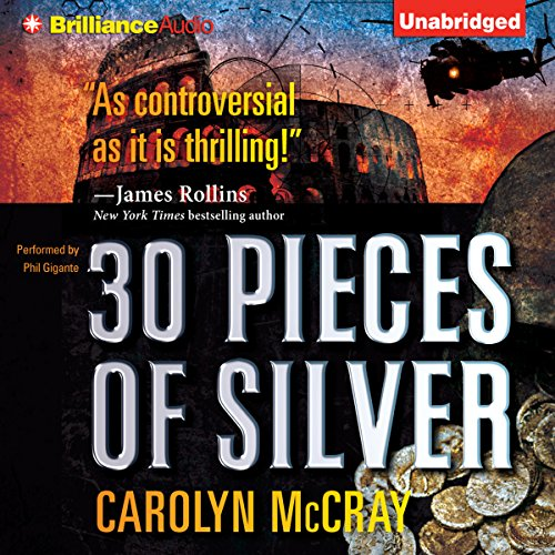 30 Pieces of Silver audiobook cover art