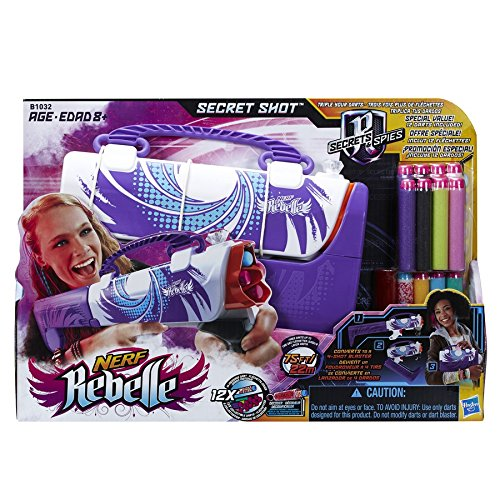 Rebelle - Secret Shot Tyd, Juego de Aire Libre (Hasbro B1032EU4)
