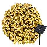 Yasolote 22M 200 LED Luci Giardino Solare Luci da Esterno Luci Stringa Solare Illuminazione per Addobbi...
