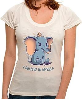 Camiseta I Believe in Myself - Feminina
