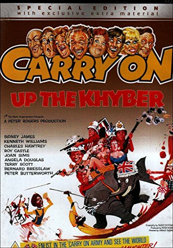 Carry On... Up the Khyber [Reino Unido] [DVD]