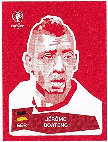 Panini UEFA EURO 2016 France - Jerome Boateng (Coca Cola Sticker)