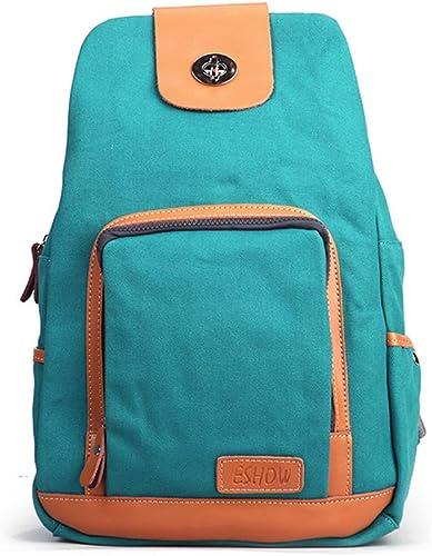 bajo precio Backpack Versión Coreana del Bolso Bolso Bolso del Hombro del Color del Caramelo de la Manera Femenina Ocasional pequeño Bolso de la Lona del Bolso del Estudiante Tendencia  toma