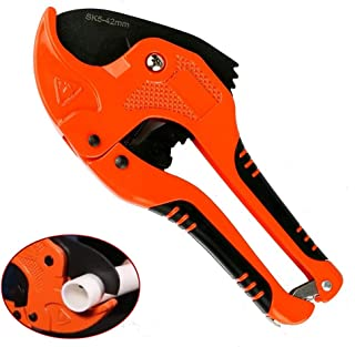 Heavy Duty PPR/PE/PVC Pipe Cutter Plastic Pipe Tool Multi-functional Stainless Steel 42mm(1-2/3