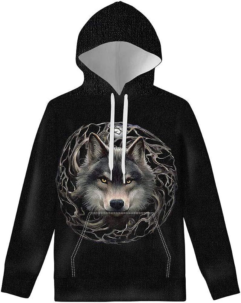 WELLFLYHOM Hoodies for Boys Girls Youth Kids Drawstring Hooded Pullover Long Sleeve Sweatshirts