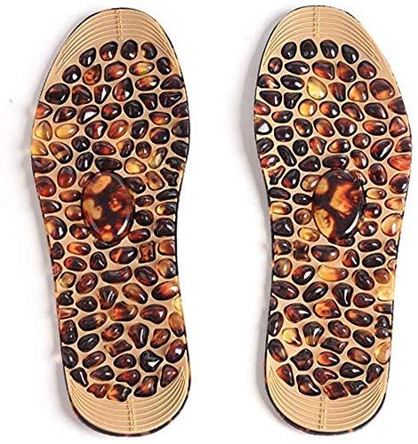 NBALL-TT Fußmassage Cobblestone Einlegesohlen Feet Akupressur Punkt-Therapie Einlegesohlen Für Die Männer-Komfort-Auflagen Abnehmen Einlegesohlen-Massage Fußpflege